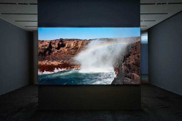 Earth - Water - Fire - Air, Hermes installation view